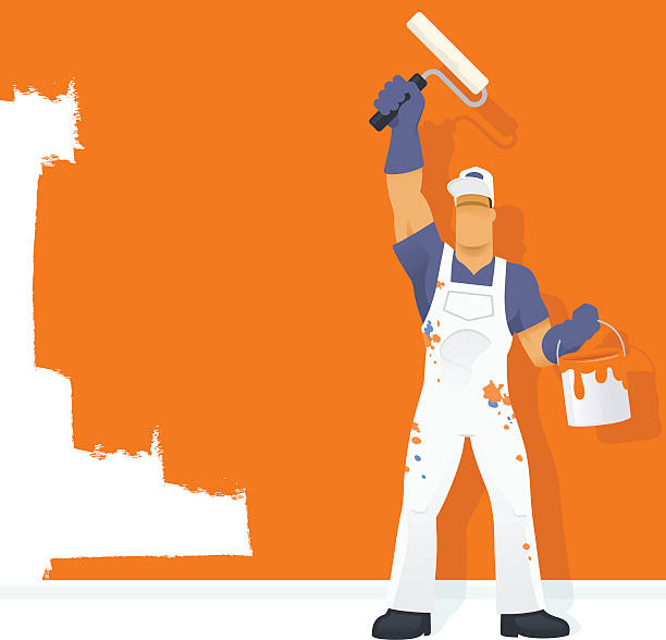 Painter Decorator Sign Stock Vector: Royalty Free House Painter Clip Art, Vector Images