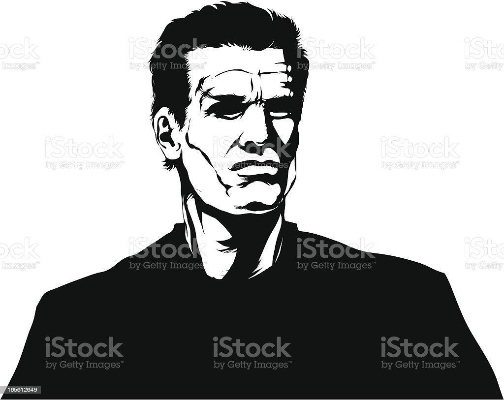 Hero vector art illustration