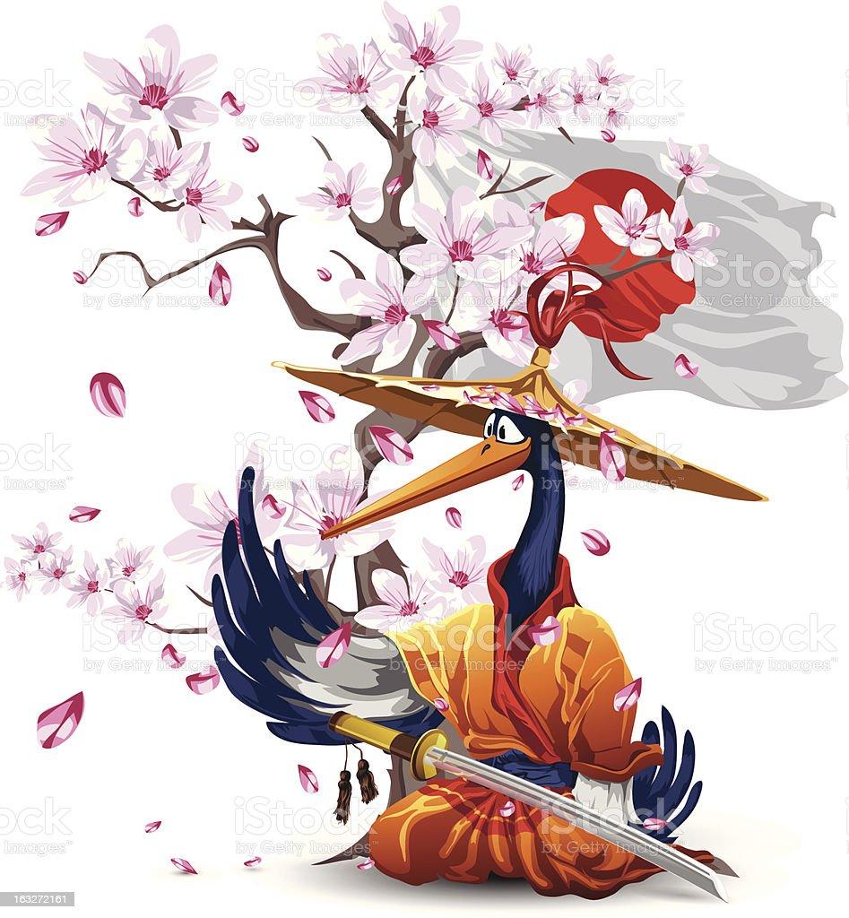 Heron royalty-free stock vector art