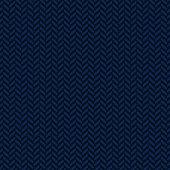 Herringbone decorative blue seamless pattern background.