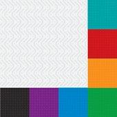 Herringbone neutral seamless patterns set in flat style.