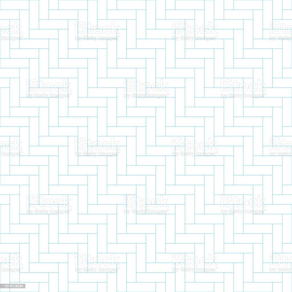 fischgrat parkett muster nahtlose hintergrund pflaster stock vektor