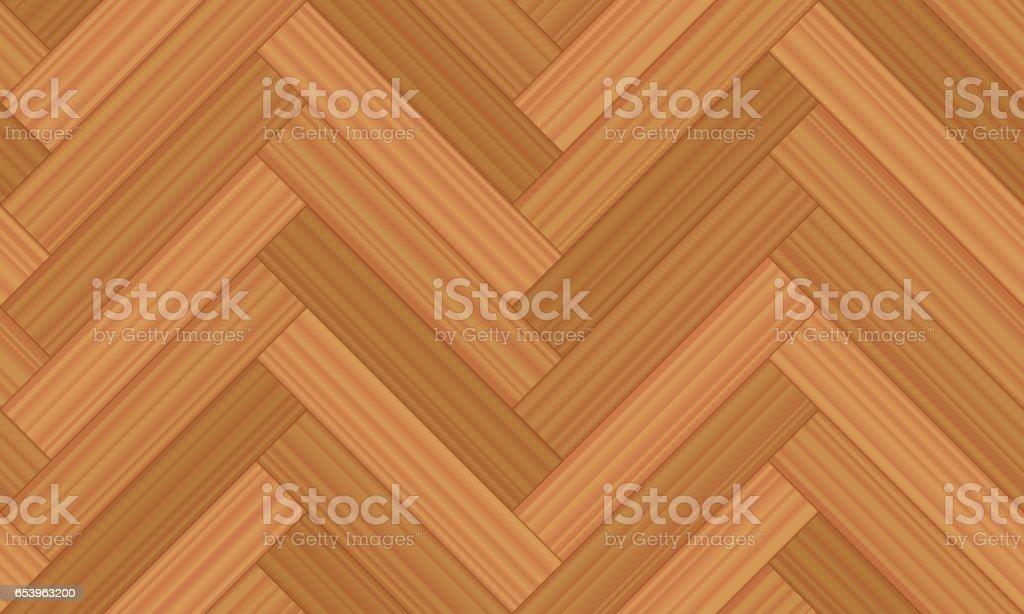 Graatvormige parket vectorillustratie van geometrische houten