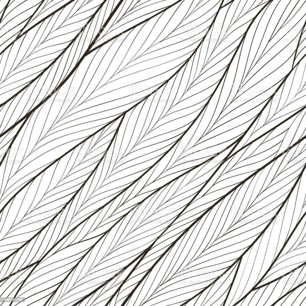 Herringbone seamless pattern. vector art illustration