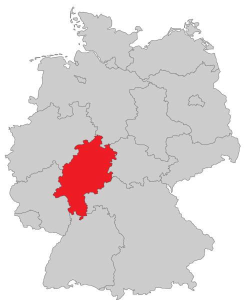 Hessen – Vektorgrafik