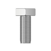 Beautiful vector design illustration of hex bolt isolated on white background