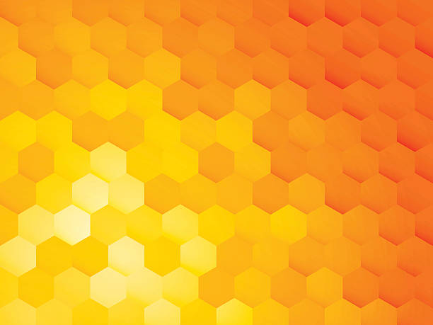 hexagon abstract background hexagon abstract background beehive stock illustrations