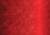 Abstract Backgrounds, Backgrounds, Hexagon, Wallpaper, Red
