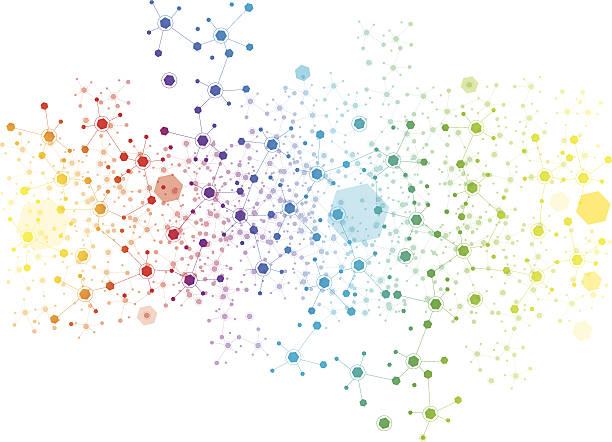 Sechseck Hintergrund – Vektorgrafik