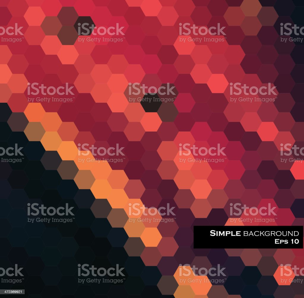 hexagon background royalty-free hexagon background stock vector art & more images of abstract