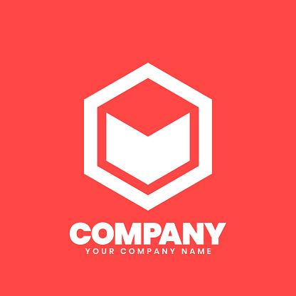 Hexagon Logo sign