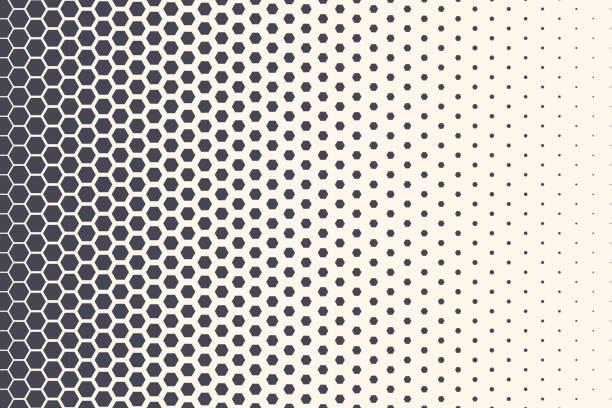 ilustrações de stock, clip art, desenhos animados e ícones de hexagon vector abstract technology background - alter do chão