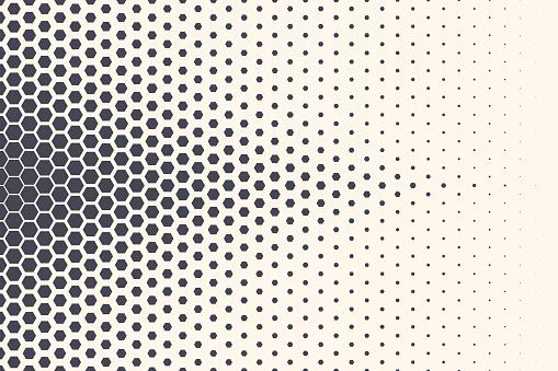 Hexagon Vector Abstract Technology Background
