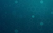 istock Hexagonal Abstract Background 1160787127