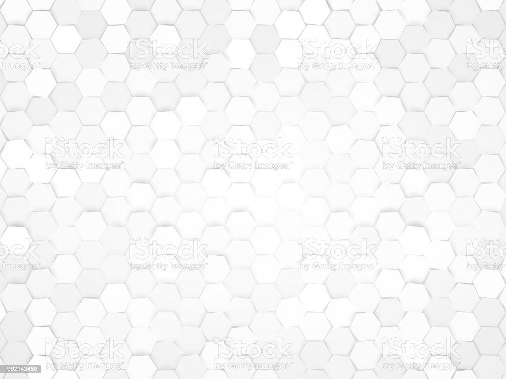 hexagonal design background vector art illustration