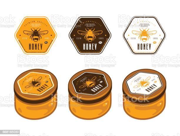 Honey Label Free Vector Art 133 Free Downloads