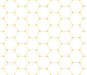 istock Hexagons seamless pattern 1197133617