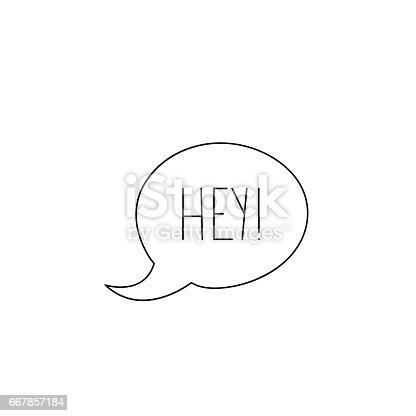 hey message