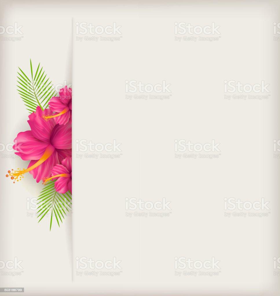 Hibiscus flower background stock vector art more images of hibiscus flower background royalty free hibiscus flower background stock vector art amp more images izmirmasajfo