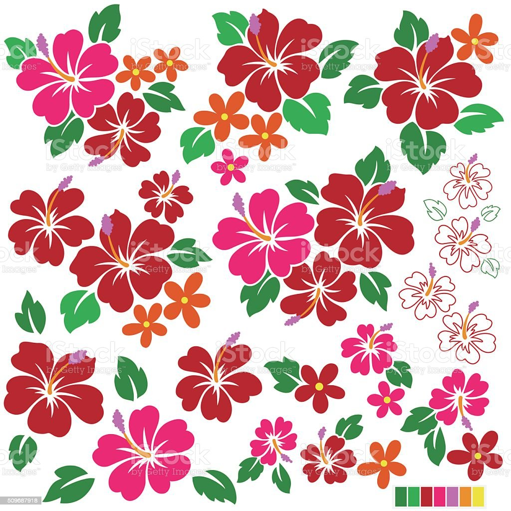 Hibiscus flower illustration stock vector art 509687918 istock description flower material plant single flower hibiscus izmirmasajfo Gallery