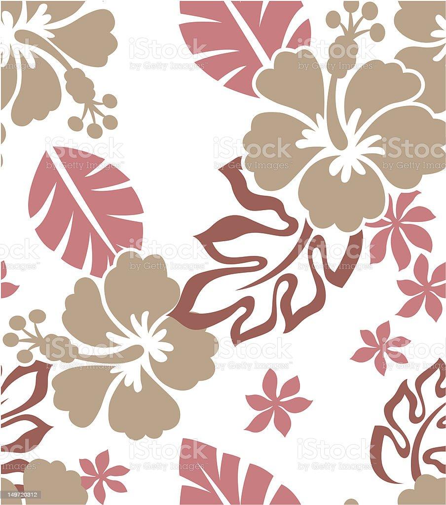Hibiscus Flower Print Stock Vector Art 149720312 Istock