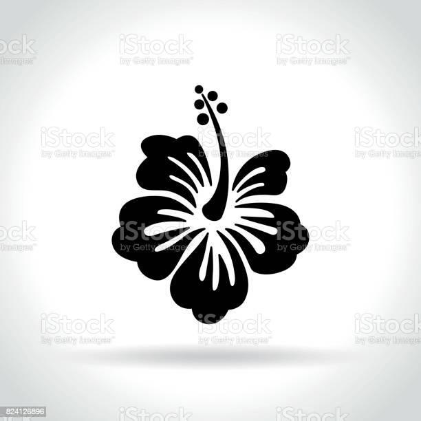 Hibiscus icon on white background vector id824126896?b=1&k=6&m=824126896&s=612x612&h=r5oyasg6hutkehwa dvh51fc8mxrmgqatmfitrebmyc=