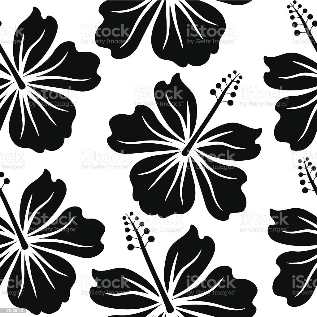 hibiscus wallpaper stock vector art & more images of abstract