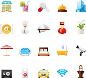 Hico icons — Hotel and Resort