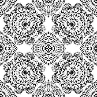 Hidden Faces Seamless Texture