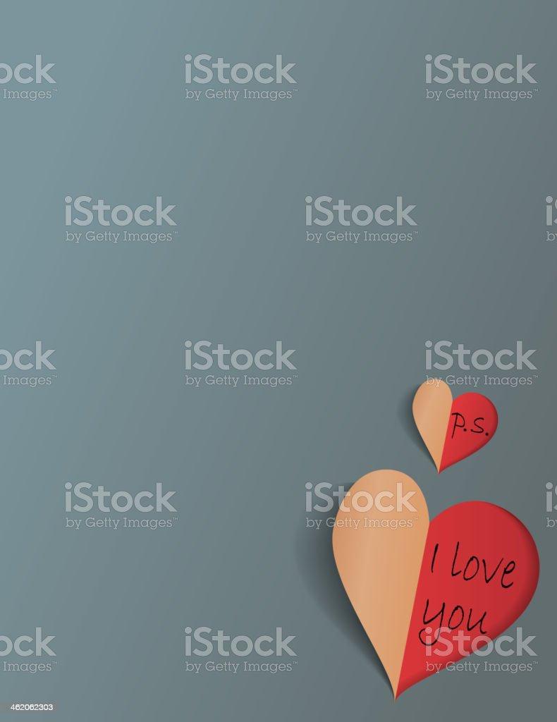 Hidden message royalty-free stock vector art