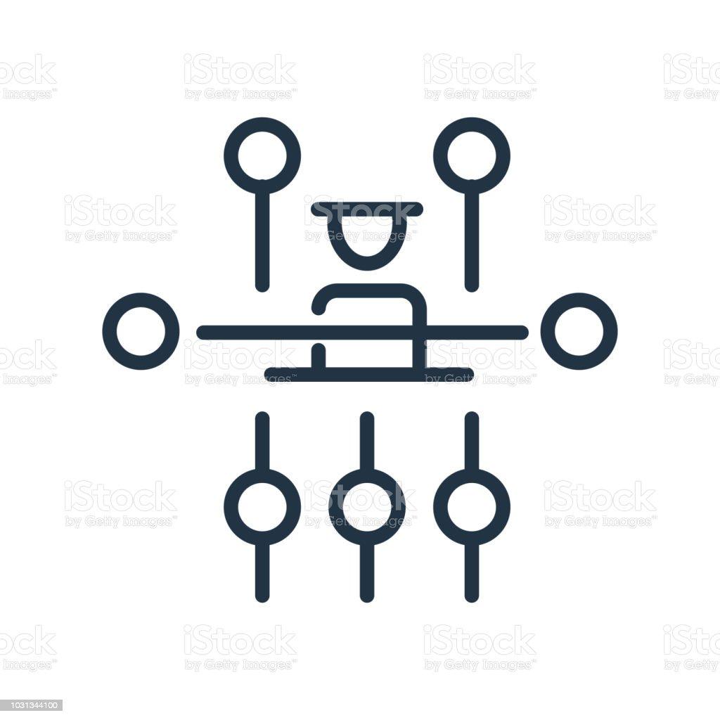 Ilustración De Vector Icono De Estructura Jerárquica Aislado Sobre Fondo Blanco Signo De Estructura Jerárquica Símbolo De La Línea O Elemento Lineal