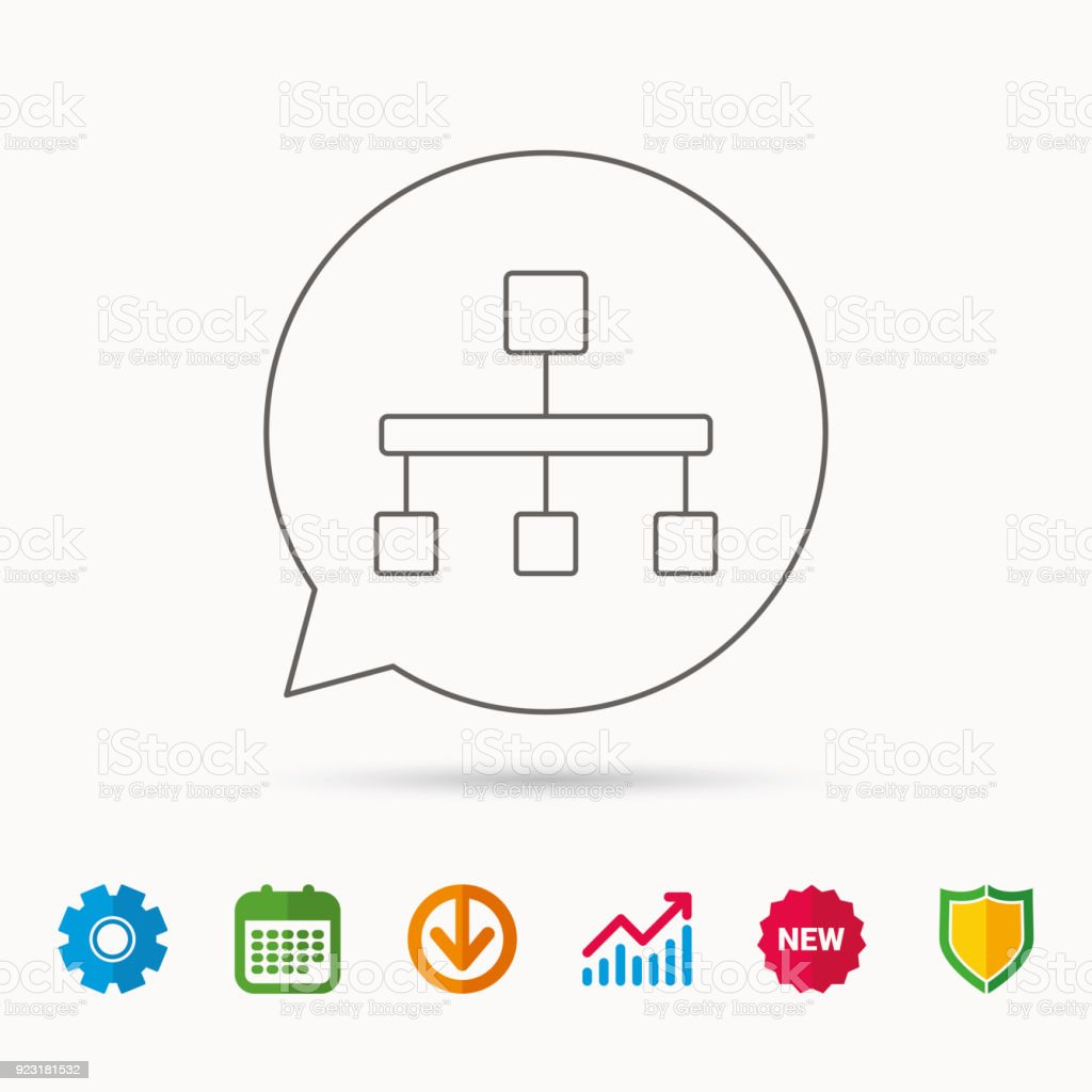Hierarchy icon organization chart sign stock vector art more hierarchy icon organization chart sign royalty free hierarchy icon organization chart sign stock ccuart Image collections