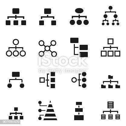 Hierarchy icon , vector illustration
