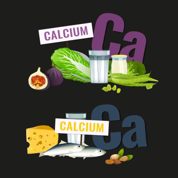 hohe kalzium lebensmittel - feigensalat stock-grafiken, -clipart, -cartoons und -symbole