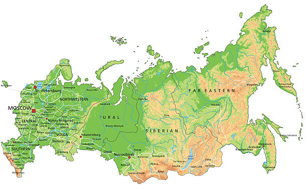 Best Ural Mountains Illustrations, Royalty-Free Vector Graphics ...
