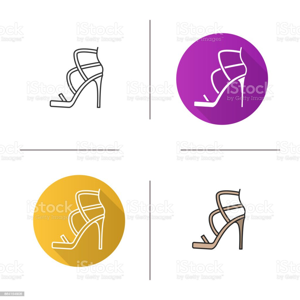 High heel shoe icon royalty-free high heel shoe icon stock vector art & more images of adult
