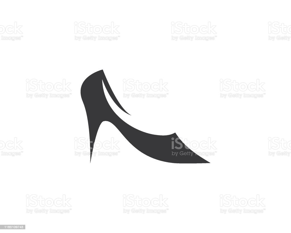 High Heel Vector Template Stock Illustration - Download Image Now In High Heel Template For Cards