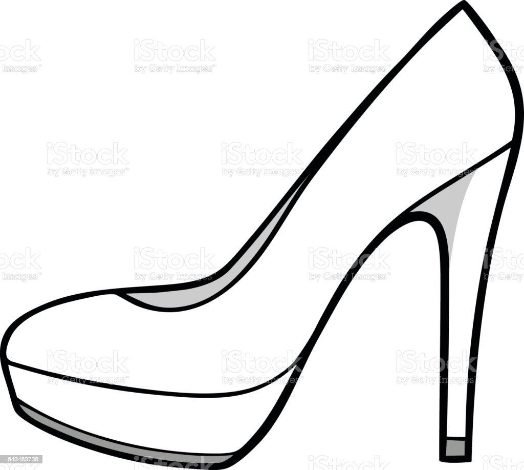 High Heels Illustration Stock Illustration - Download ...