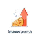 High interest rate, long term investing strategy, income growth, boost business revenue, fund raising, pension savings, more money