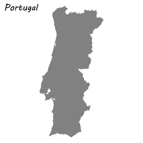 ilustrações de stock, clip art, desenhos animados e ícones de high quality map - portugal map
