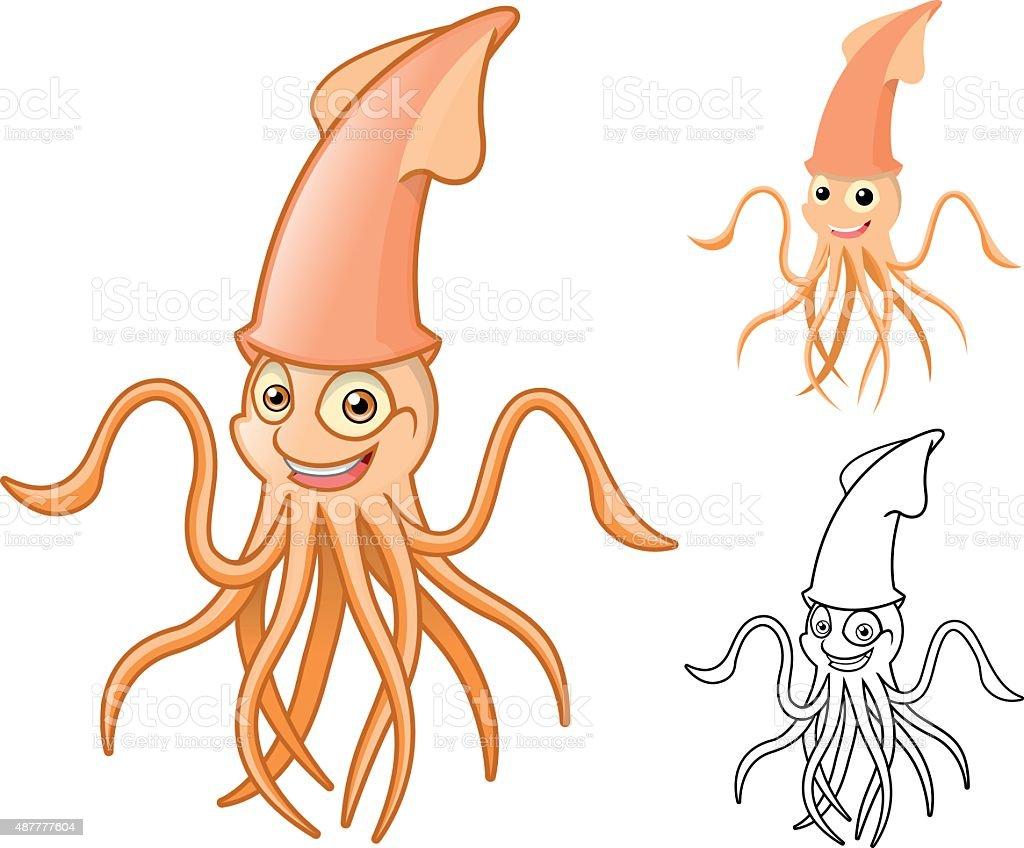 Tintenfisch Comic