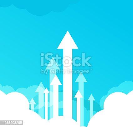 istock high rising arrows 1283503295
