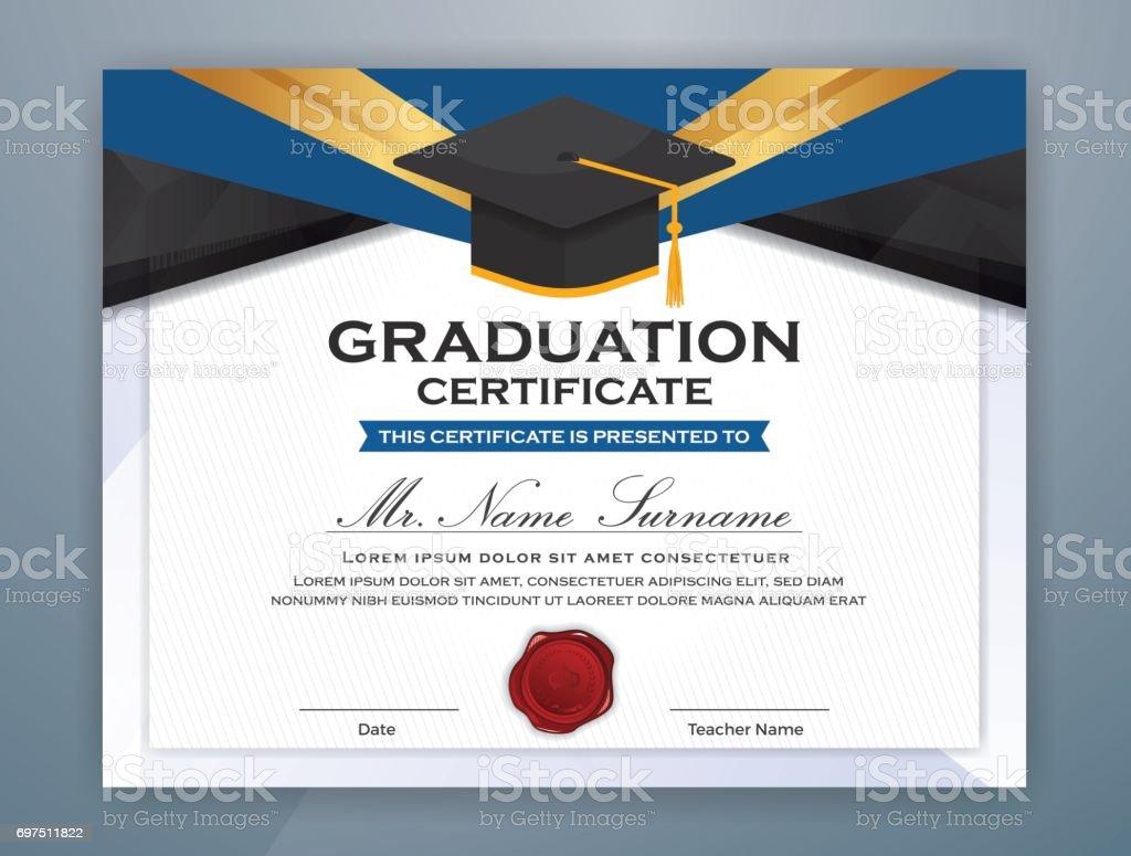 High school diploma certificate template stock vector art more high school diploma certificate template royalty free high school diploma certificate template stock vector art yelopaper Choice Image