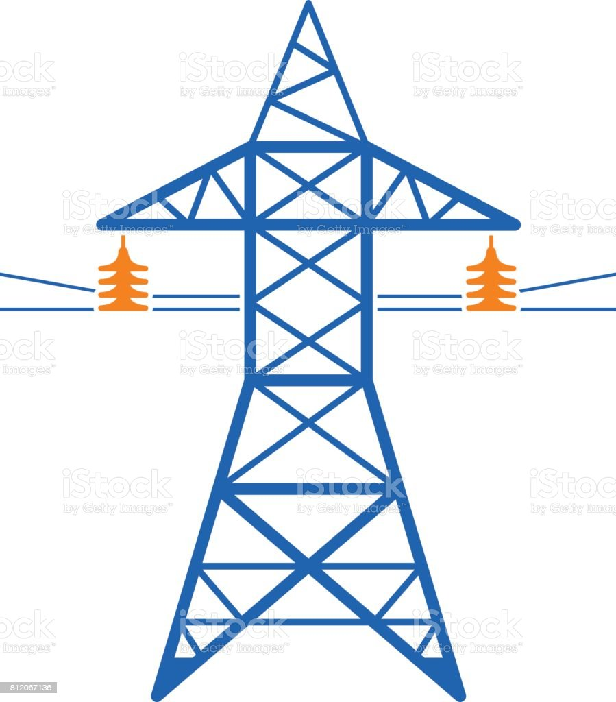 Electricity Tower Clipart