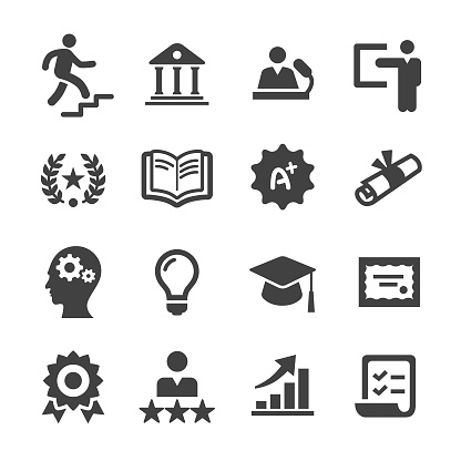 Higher Education Icons - Acme Series clipart