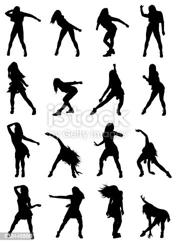Highly Detailed Collection Of Woman Poses Dancing Jazz