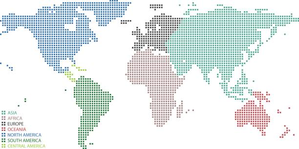 Royalty Free Continents Clip Art, Vector Images & Illustrations - iStock