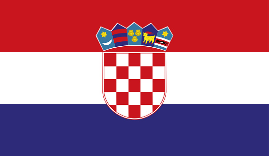 Highly Detailed Flag Of Croatia - Croatia Flag High Detail - Vector of Croatia flag. EPS, Vector