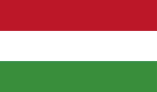 Highly Detailed Flag Of Hungary - Hungary Flag High Detail - National flag Hungary - Vector of Hungary flag, EPS, Vector
