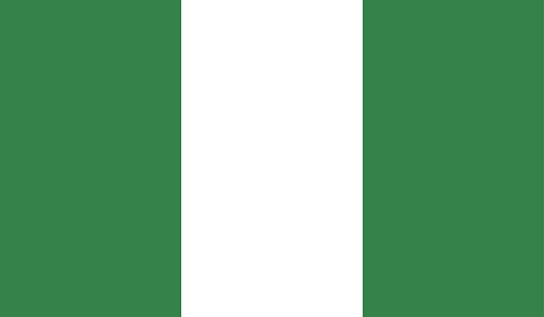 Highly Detailed Flag Of Nigeria - Nigeria Flag High Detail - National flag Nigeria - Vector of Nigeria flag, EPS, Vector